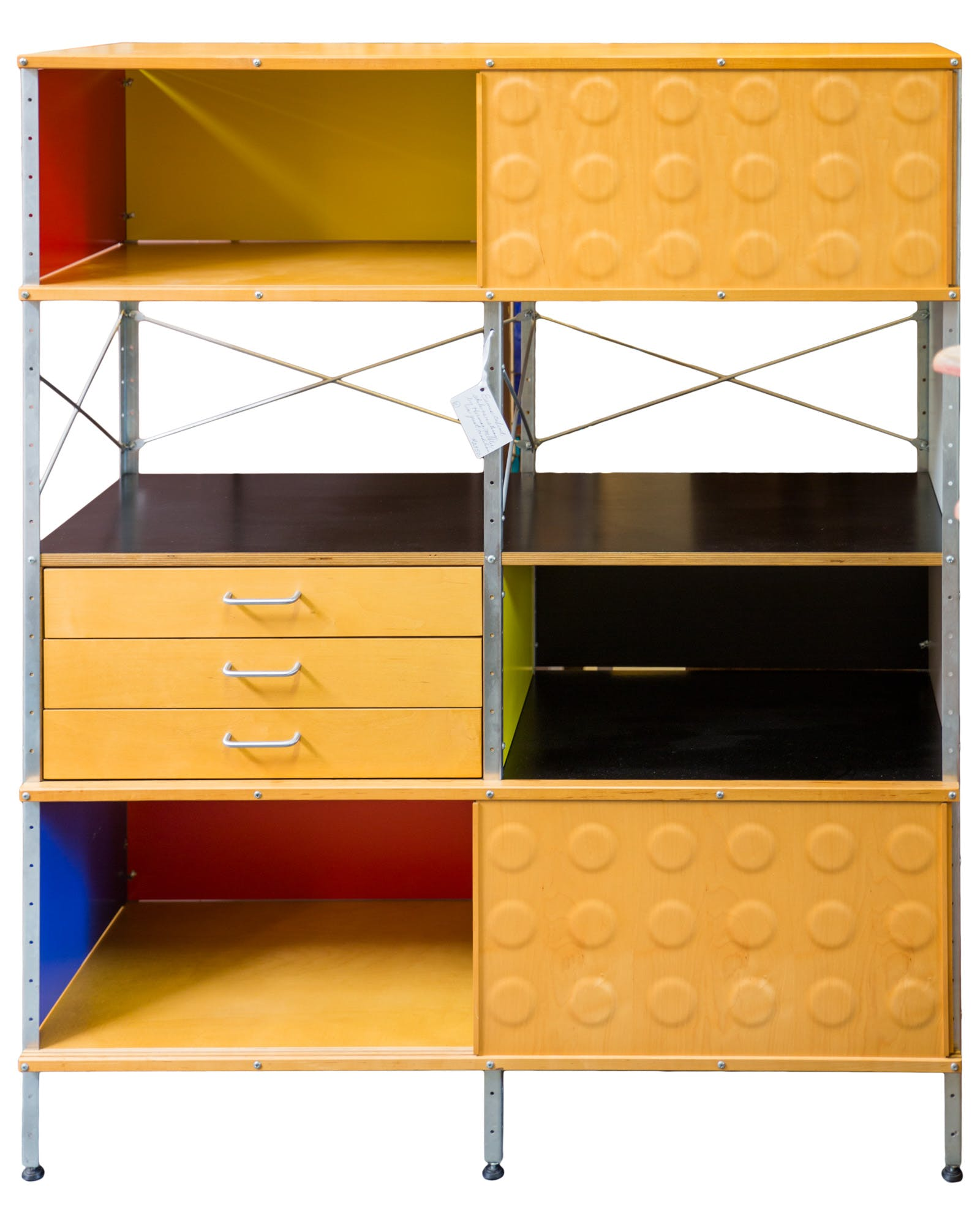 Eames Colorful Storage Unit by Herman Miller