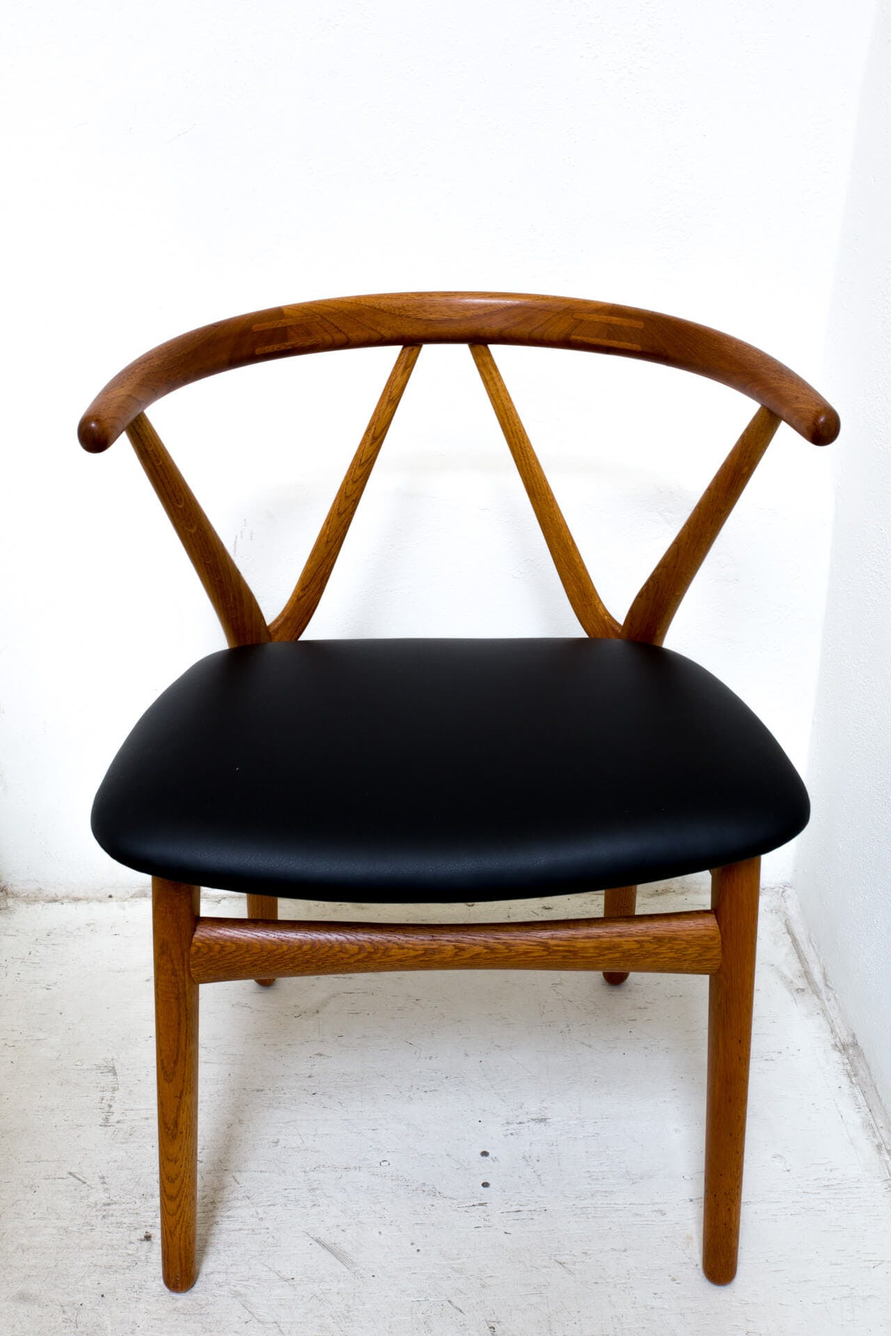 Danish Dining Chairs By Architect Henning Kjaernulf Circa 1950s