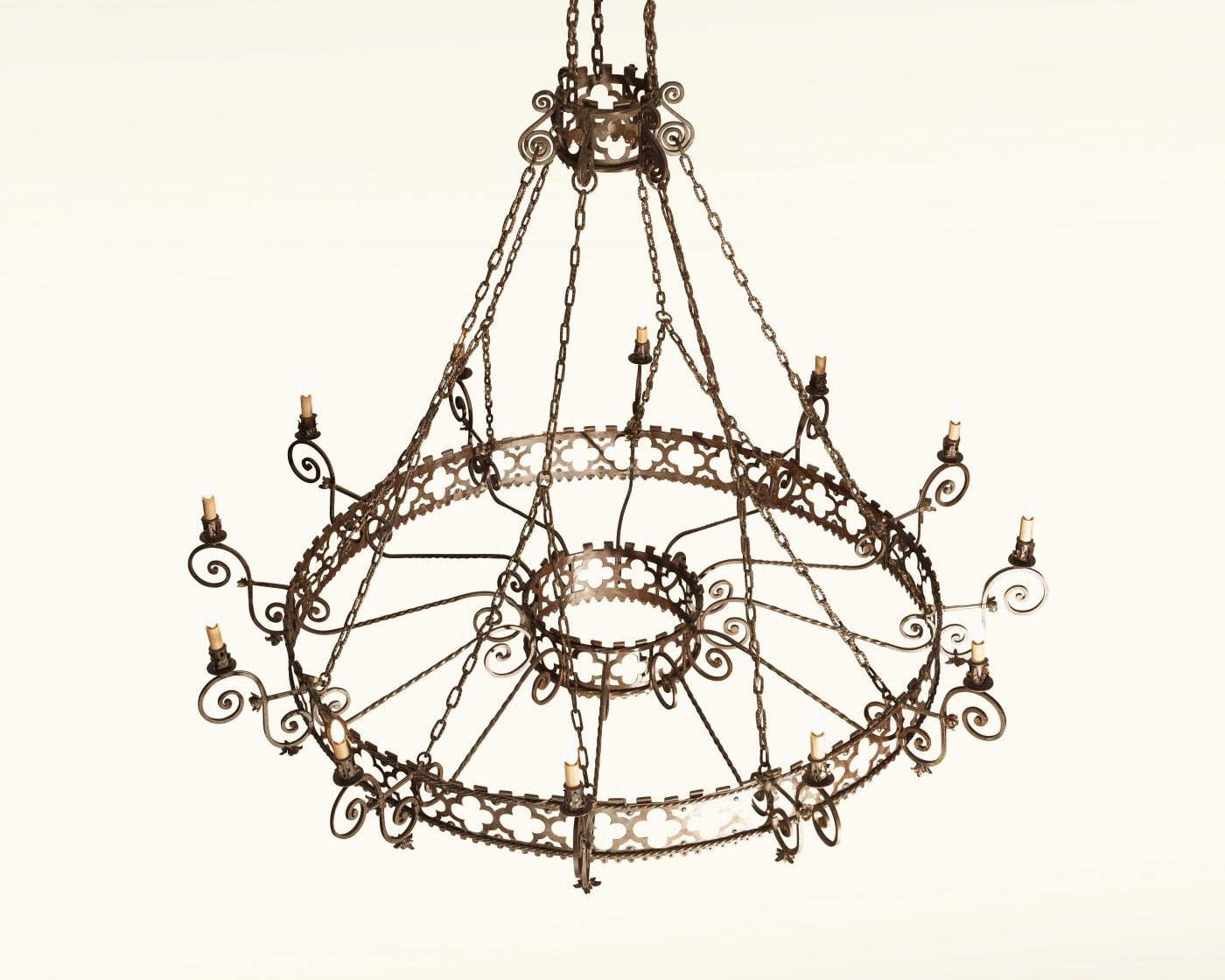 colonial chandelier marvelous light brass sold antique five c revival