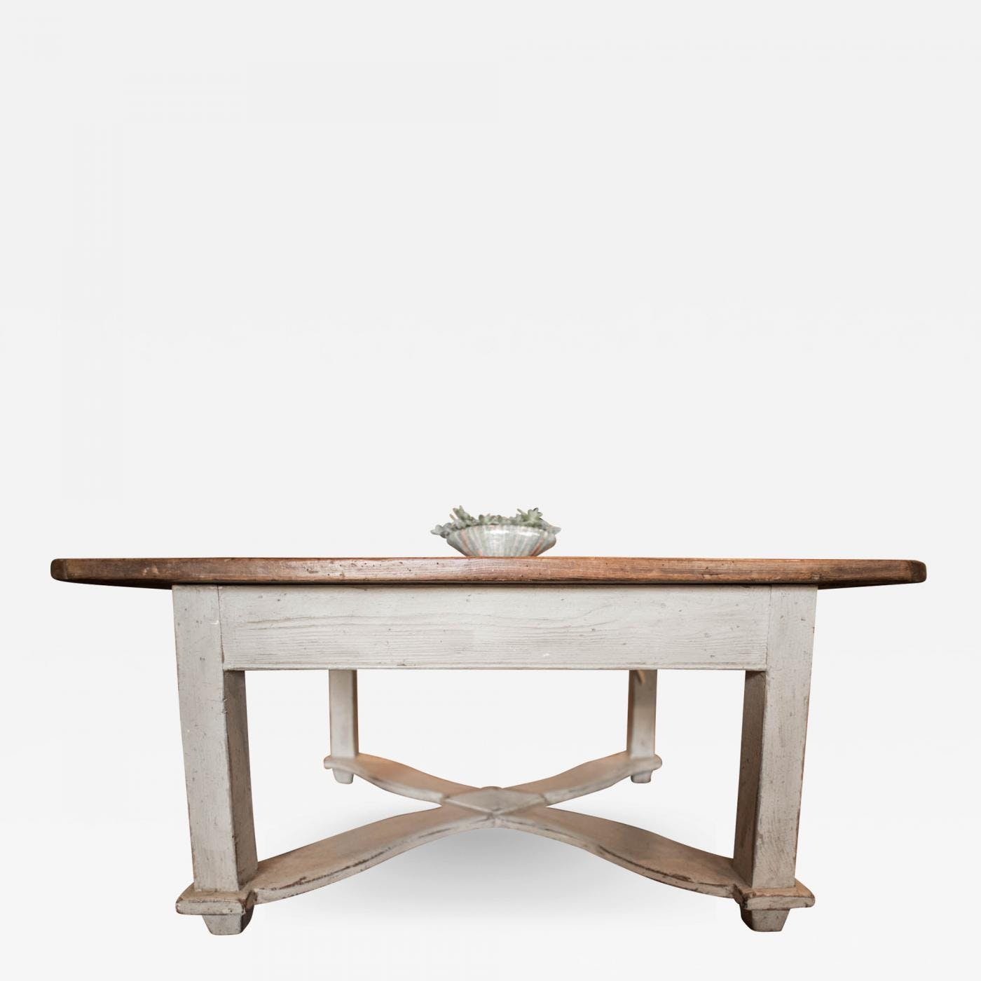 Tyrolean Low Coffee Table From Austria