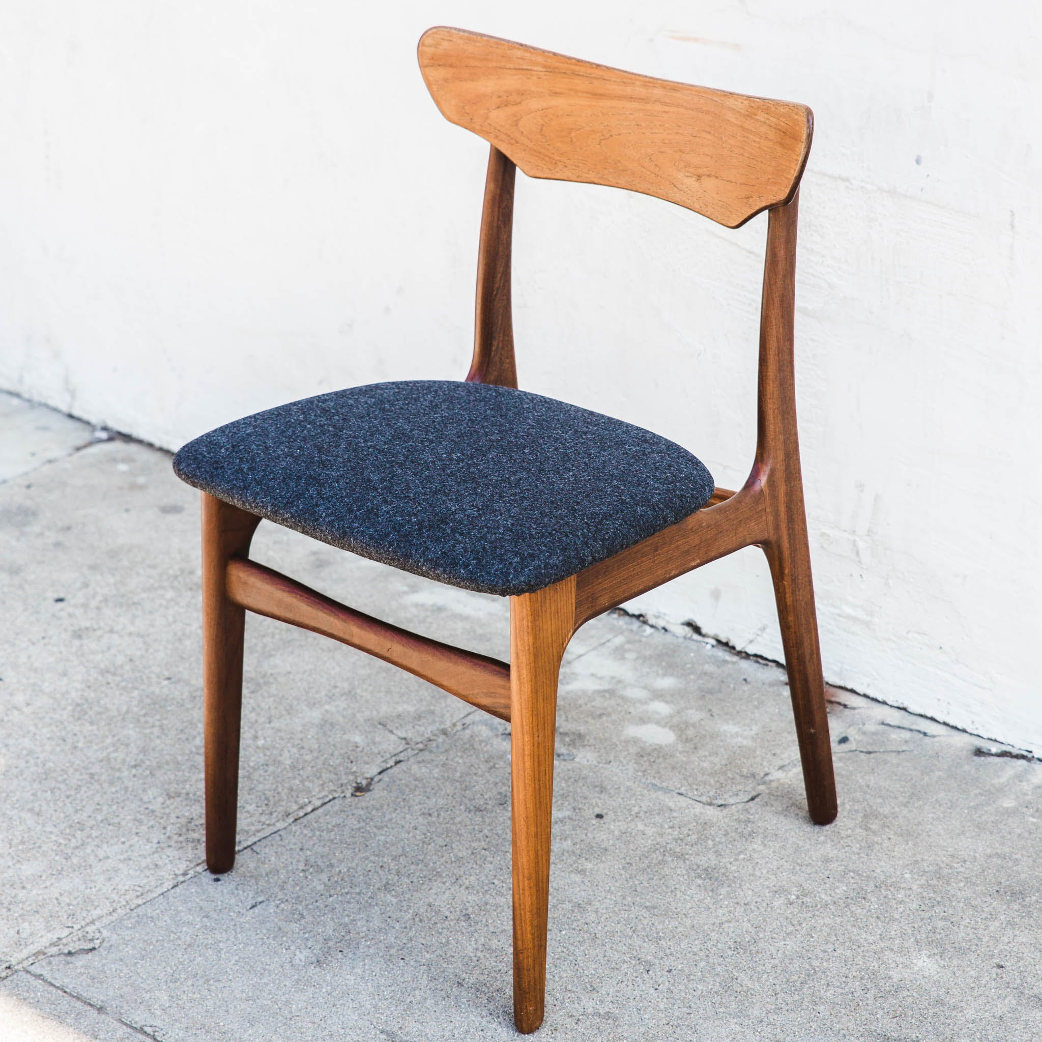 Set Of 4 Danish Teak Dining Chairs By Schionning And Elgaard
